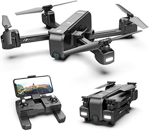 Drone 2.7K, Quadcopter Drone met FHD FPV-camera, 5G FPV-monitor zendt live video uit,met automatische terugkeer naar huis,aangepast vluchtpad,volg mij,lang besturingsbereik,automatisch zweven
