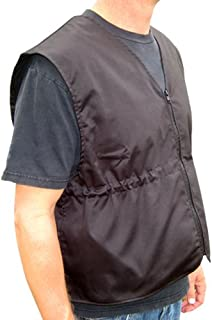 Heat Factory Cooling & Warming Vest X-large, Black