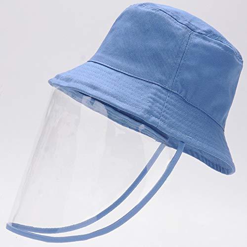 Daily noodzaak sities vishoed voor kinderen in de openlucht, afneembaar transparant scherm, brede randhoed voor de zomer, voor jongens en meisjes van 1 tot 3 jaar