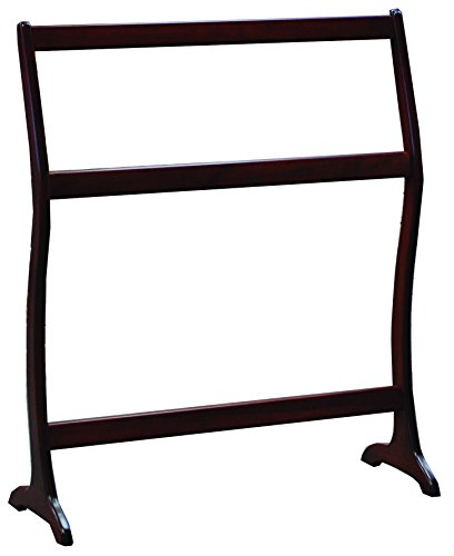 Learn More About Allamishfurniture Amish Modern Quilt Rack Waterfall Floor Cherry UNASSEMBLED