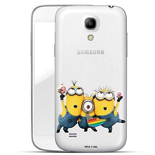 Hülle für Samsung Galaxy S4 Mini - Minions Handyhülle mit Motiv und Optimalen Schutz Tasche Case Hardcase Cover Schutzhülle - Minion EIS Party