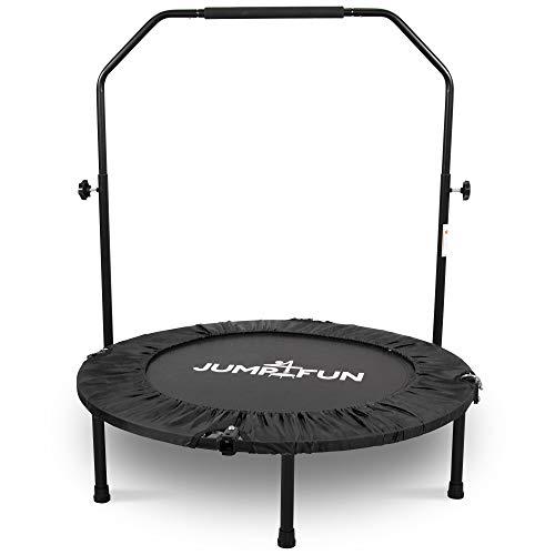 Mini Cama Elástica - Trampolín Fitness Jump4fun Plegable Doble Barra