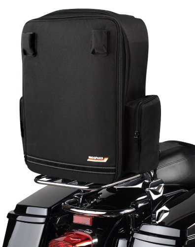 Nelson-Rigg CTB-650 RiggPak Black Solo Tourer Luggage/Seat Bag