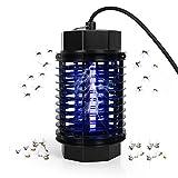 AYSOW Lámpara de Mosquitos, Trampa Eléctrica para Matar Insectos, Lámpara para Matar Mosquitos con Luz UV, Atrapador de Insectos y Moscas para la Seguridad en el Hogar y en el Dormitorio