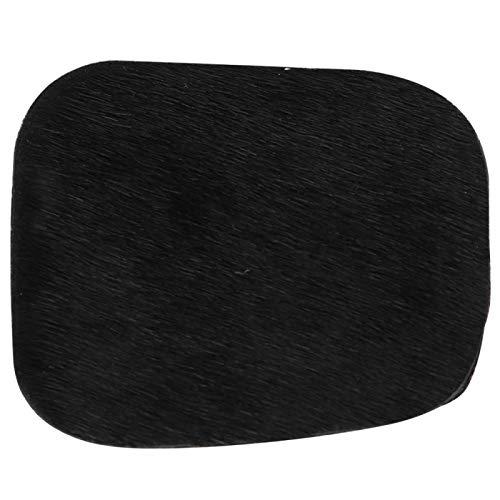 01 Práctica Placa silenciosa de Arco Ligero y fácil de Transportar, Soporte de Flecha Compacto, Arcos a Juego para Caza(Black)