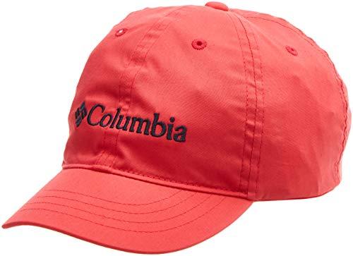 Columbia Gorra para niños, Youth Adjustable Ball Cap, Algodón, Rojo (Bright Geranium), Talla: O/S, 1644971