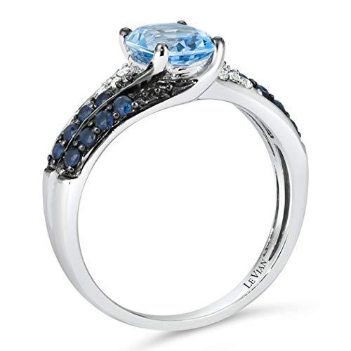 Anillos De Compromiso Oro Blanco Y Diamantes Precios marca LE VIAN