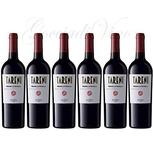 6 Bottiglie NERO D AVOLA TARENI Sicilia 2020 PELLEGRINO