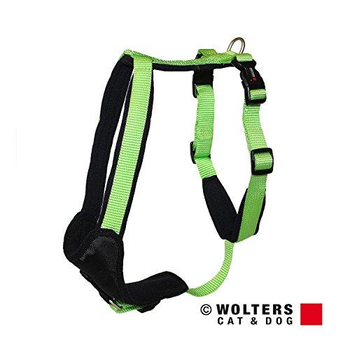 Wolters | Geschirr Professional Comfort in Kiwi/Schwarz | Brustumfang 70 - 85 cm
