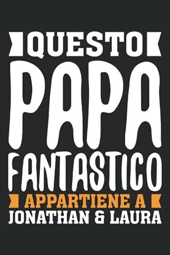 Papá, cuaderno: Bonita idea de regalo para el mejor papá del mundo en el Día del Padre, cumpleaños, Navidad y Pascua. El regalo ideal para las notas personales de papá.