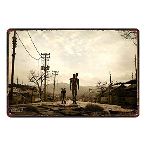 Ubranded Tin Sign Vintage Game Metal Plates For Wall Pub Home Art Retro Bar Decoration 20x30cm DU1819
