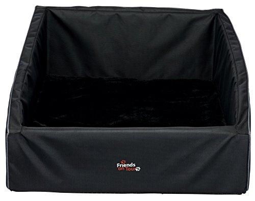 Trixie 13475 Kofferraum-Bett, 90 × 75 cm, schwarz