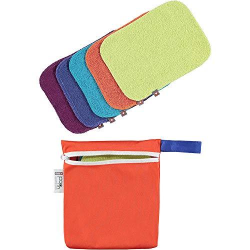 Close Parent 25806 Lavables Pack, Colores Vivos, 10 Toallitas