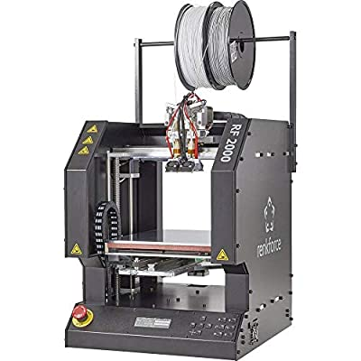 Renkforce RF2000v2 Dual 3D Drucker Fertiggerät beheizbares Druckbett