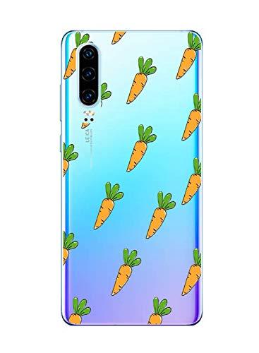 Suhctup Funda Compatible con Huawei Y5 2018 Transparent,Carcasa Protección Silicona Gel TPU Bumper Moda Dibujos Protector Piel Ultra Pulgadas Anti Choques Estuche Case para Huawei Y5 2018(11)