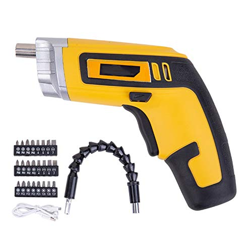 KAMELUN Electric Impact Cordless Drill High Power Rechargeable Cordless Lithium Battery Hand Drills Home DIY Electric Screwdriver,Dl6521
