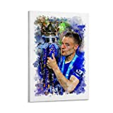 Jamie Vardy Leicester City Poster, dekoratives Gemälde,