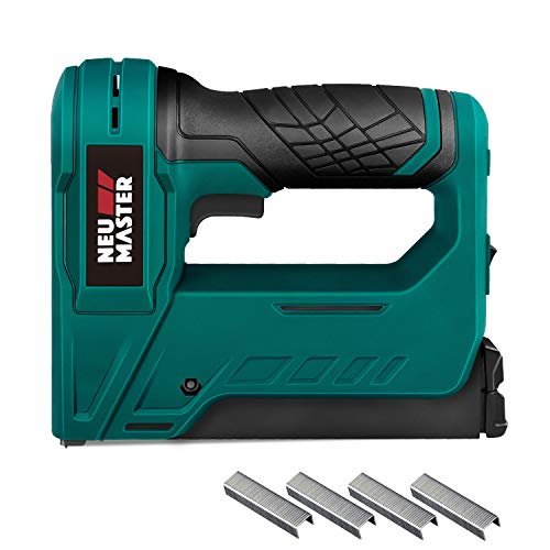 Cordless Staple Gun, NEU MASTER NTC0070 3.6V Li-ion Battery Staple Gun for DIY Small Project of...