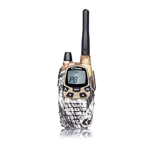 Midland G7 Pro Radio Ricetrasmittente Walkie Talkie Dual Band 8 Canali PMR446 e 69 Canali LPD, 1 Ricetrasmettitore, 4 Batterie Ricaricabili Ni-MH AA 1.2 V/1800 mAh, Caricabatterie e Clip Cintura