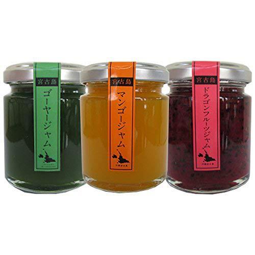 マンゴー ドラゴンフルーツ ゴーヤー ジャム 110g 各1瓶 食楽Zu 宮古島産のマンゴー、ドラゴンフルーツ、ゴーヤを使用したジャム3種セット すっきりとした甘さと風味を味わえます