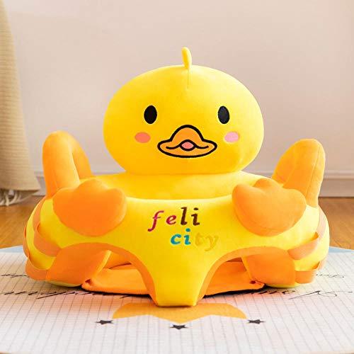 Pluche Baby-Leerstoel Pasgeboren Bank Zithouding Leren Baby Anti-Val Troostend Speelgoed Early Education Seat-Figuur 10_40x55cm