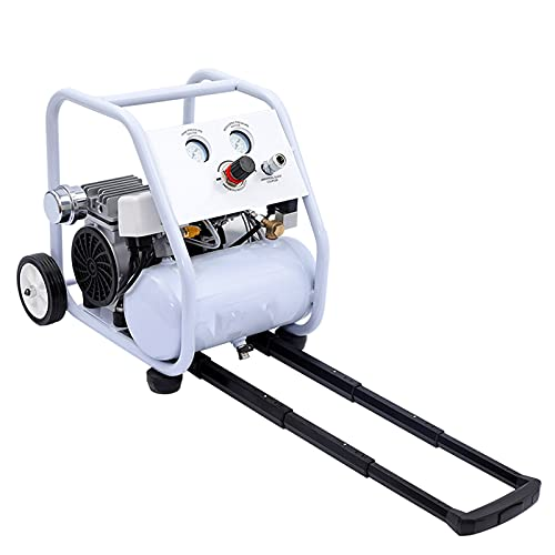 Oil Free Air Compressor Portable Quiet Air Pump 5L Tie Rod Type Frame Type Air Compressor 550/750/1000 W Home Renovation Spray Paint Tire Inflation