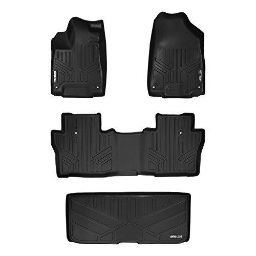 MAXLINER Floor Mats 1st Row Liner Set Black for 2010-2014 Subaru Outback//Legacy Automatic Transmission