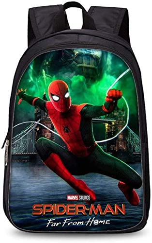 Marvel Spider-Man 3D Comic Superhero Primary School Bag Ergonomic Backpack