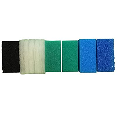 Finest-Filters Full Set of Compatible Filter Foams For Juwel Compact/BioFlow 3.0 by Finest-Filters
