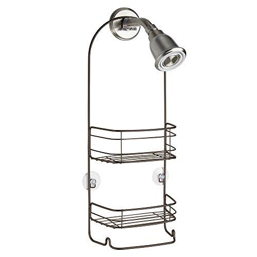 Review Of InterDesign Rondo Hanging Shower Caddy – Bathroom Storage Shelves for Shampoo, Condition...