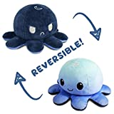 The Original Reversible Octopus Plushie | TeeTurtle's Patented Design | Day and Night | Show your mood without saying a word!