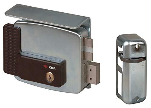 Cisa 11510-50 - Cerradura eléctrica para puerta 11761, entrada derecha, 70 mm