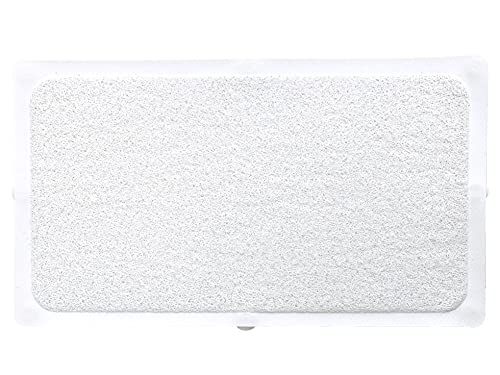 """QXY Bath Mats Loofah for Tub Shower Mat Fast Drying Non Slip for Bathroom Bath and Tub Mat Machine Washable The Elderly and Children 15.7""""x27.5"""