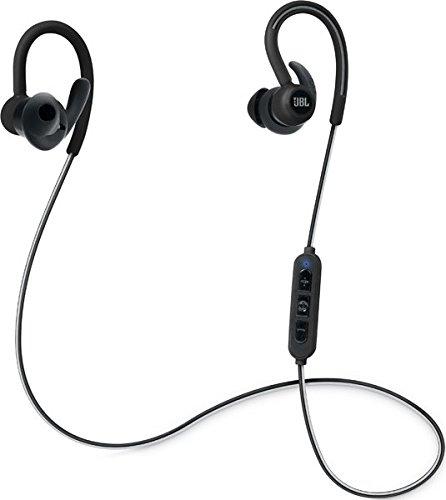 JBL JBLREFCONTOURBL Cuffie Intra-Auricolari Sportivi con Wireless e Bluetooth, Nero