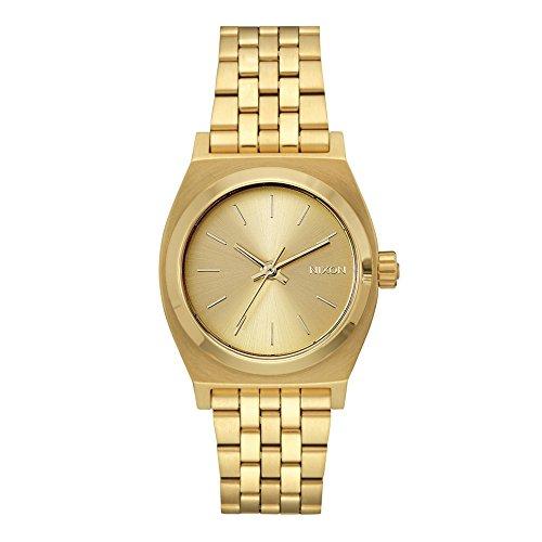 Nixon Medium Time Teller Reloj para Mujer Analógico de Cuarzo japonés con Brazalete de Acero Inoxidable A1130502