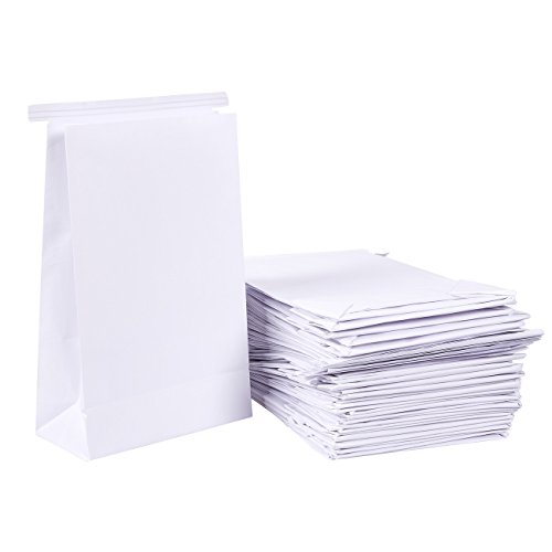 Barf Bags, Sickness Bag for Motion Sickness (6 x 2.6 x 9.7 in, 50-Pack)