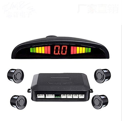 Reversing Radar Live Voice Yue Bee beep LED Display with 4 ultrasonic Probe reversing Radar