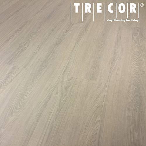TRECOR® Vinylboden Klick RIGID 4.2 Massivdiele - 4,2 m stark mit 0,30 mm Nutzschicht - Sie kaufen 1 m² - WASSERFEST (Vinylboden | 1 qm, Wintereiche)