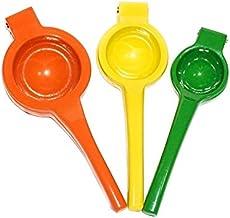 The Happy Kitchen Lemon Squeezer/Lime Juicer/Orange Squeezer- Citrus Press - Commercial Grade Aluminum