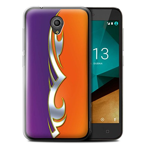 Stuff4 Phone Case/Cover/Skin/vsmtp7-gc/Custom Paint Job Collezione Viola/Arancio