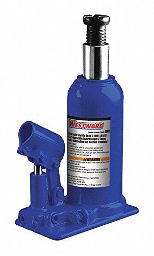 Westward Bottle Jack, Hydraulic, 5 Tons, 7-7/8in.L