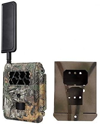 Spartan Verizon 4G LTE GoCam Deluxe Package 720P Wireless Trail Camera Blackout IR (Camera and Lock Box)