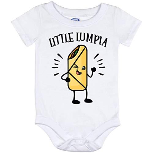 Little Lumpia Baby Bodysuit, Filipino Specialist Infant Outfit, Traditional Filipino Lumpia Newborn Jumpsuit