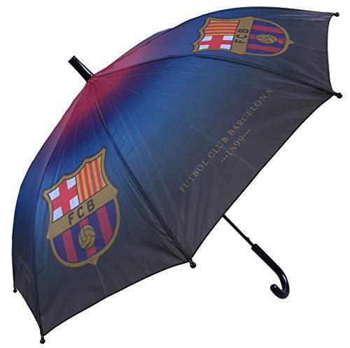 Zwart/Blauw/Bordeaux Paraplu voor Kids FC Barcelona