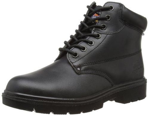 Dickies Antrim - Calzado de protección para hombre, color negro, talla 44
