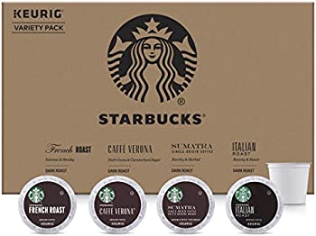 96-Count Starbucks Dark Roast K-Cup Coffee Pods