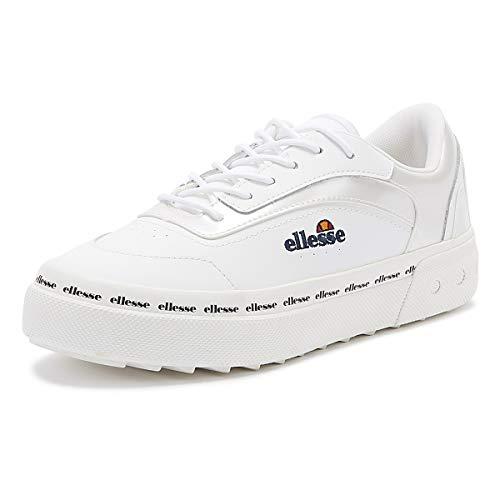 ellesse Alzina, Zapatillas Mujer, Multicolor (White/White/White Wht/Wht/Wht), 38 EU