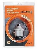 Kit Completo Butano Regulador HOGARTEC 1,50m.