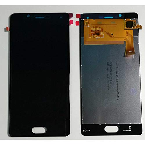 HOUSEPC Pantalla Táctil De Vidrio + Pantalla LCD para Wiko U Sentir Ufeel 5.0 Digitalizador Negro