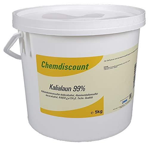 5kg Kalialaun (Kaliumaluminiumsulfat-Dodecahydrat, Alaun), versandkostenfrei!